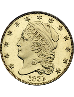Quarter, Capped Bust (1815-1839)