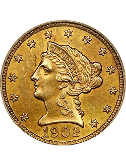 Quarter Eagle, Liberty Head (1840-1907)