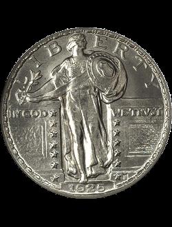 Quarter, Standing Liberty (1916-1930)
