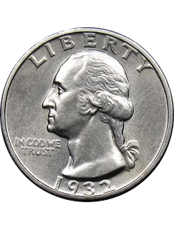 Quarter, Washington (1931-present)
