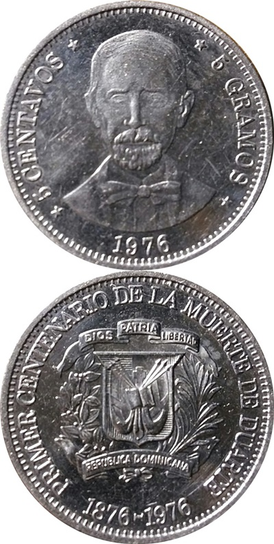 Republic - Commemorative 1976 (Juan Pablo Duarte)