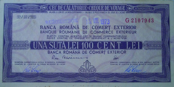 Romanian Bank for Foreign Trade - CEC Travel
