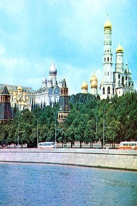 Russia - Moscow - Kremlin - Cathedrals