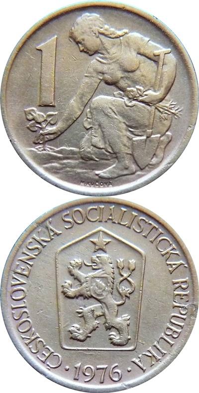 Socialist Republic - 1961-1990 - 1 Koruna