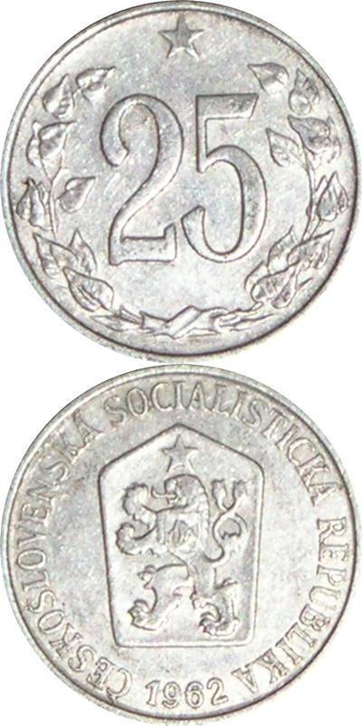 Republică Socialistă - 1962-1964 - 25 Haleru