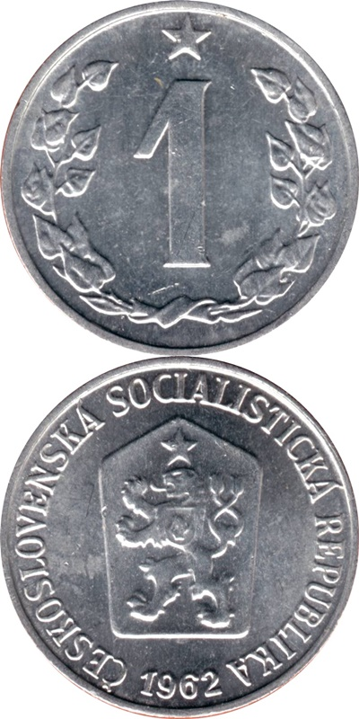 Socialist Republic - 1962-1986 - 1 Haler