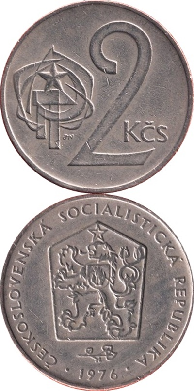 Socialist Republic - 1972-1990 - 2 Koruny