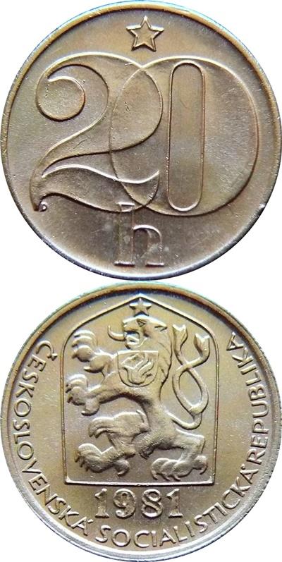 Socialist Republic - 1972-1990 - 20 Haleru