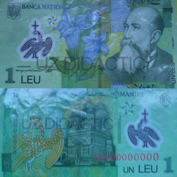 Bancnote pentru uz didactic