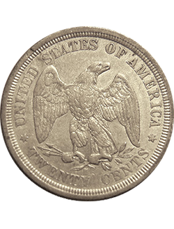 Twenty-cent piece (1875-1878)