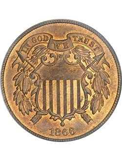Two-cent piece (1864-1873)