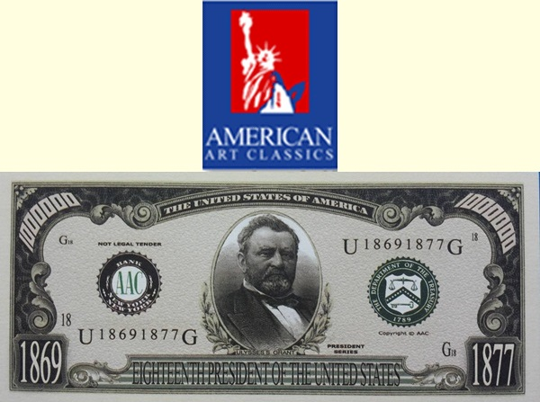 USA - American Art Classics, Inc. (AAC) - Presidential Series