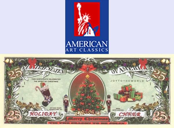 USA - American Art Classics, Inc. (AAC) - Seria Crăciun fericit