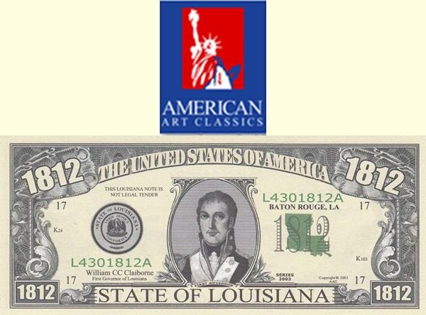 USA - American Art Classics, Inc. (AAC) - Statele SUA