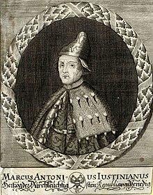 Venice - Marcantonio Giustinian (1684-1688)