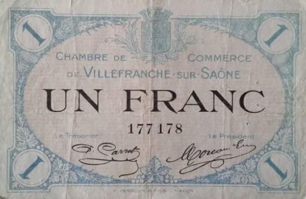 Villefranche sur Saône - Camera de comerț (Chambre de Commerce)