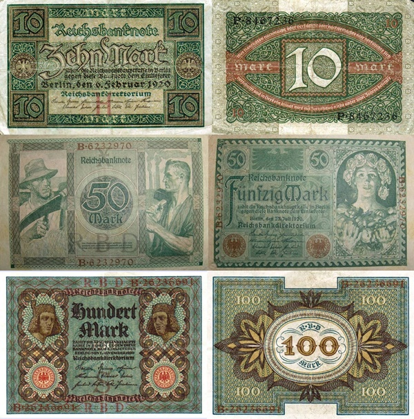1920 Issue - Reichsbanknote (Republic Treasury Notes)