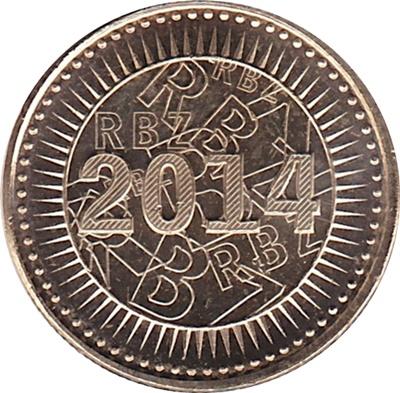 Zimbabwean Bond Coins - 2014-2016